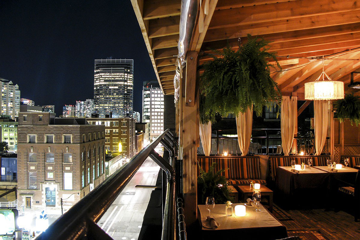 Best Bars with Amazing Rooftop View in Toronto